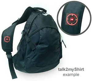 Fitright Lightup Ipod Control on bag