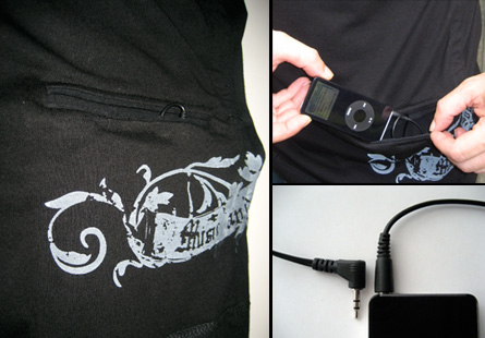 Music and Sons BLACK-eco T-Shirt
