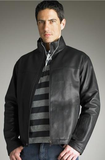 Zegna Leather iJacket