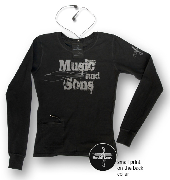 MUSIC and SONS Eco-Fashion T-Shirts