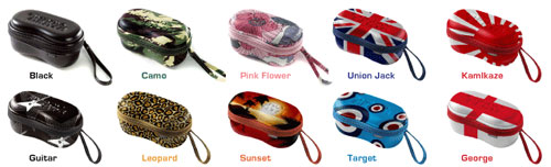 Shady Beats Sunglasses Case Range