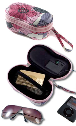 Shady Beats Sunglasses Case with Built-in Speaker