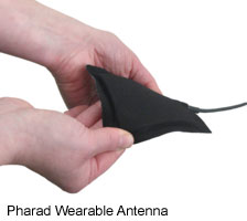 Pharad Wearable Antenna