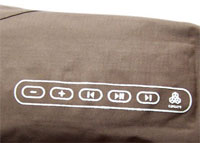 RHYTHM iPod Jacket Sleeve Controls