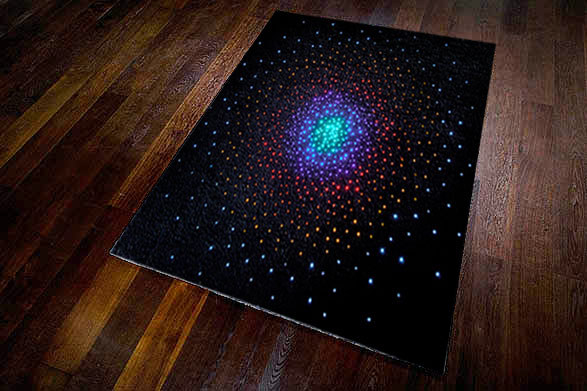 Top Floor Luminoso LED Rug