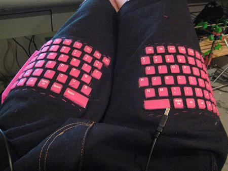 DIY Keyboard Pants