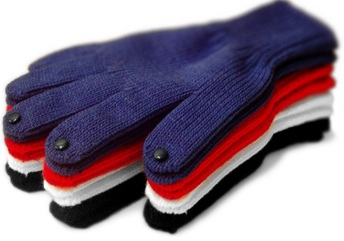 Dots Gloves Touch Screen Gloves