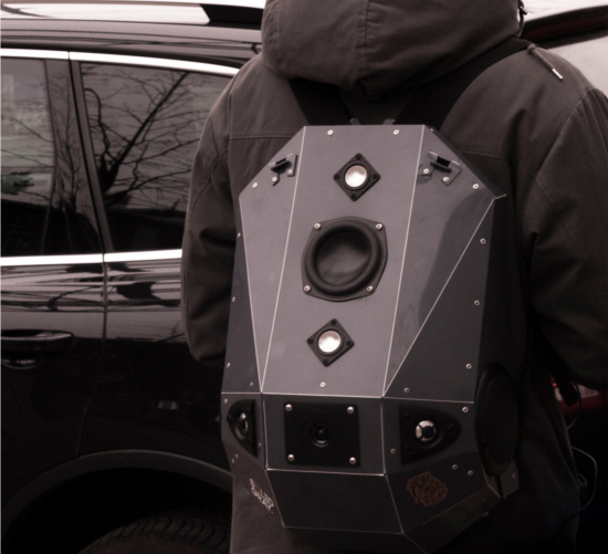 Boombox Backpack