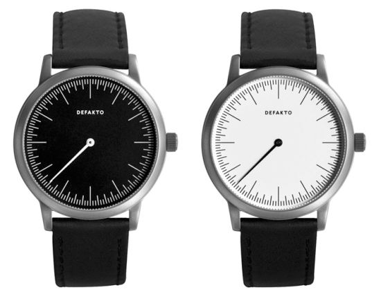 defakto single hand watch 1
