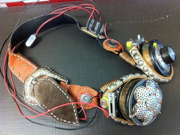 DIY Theremin Goggles